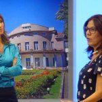 Lourdes Valle em entrevista na Record