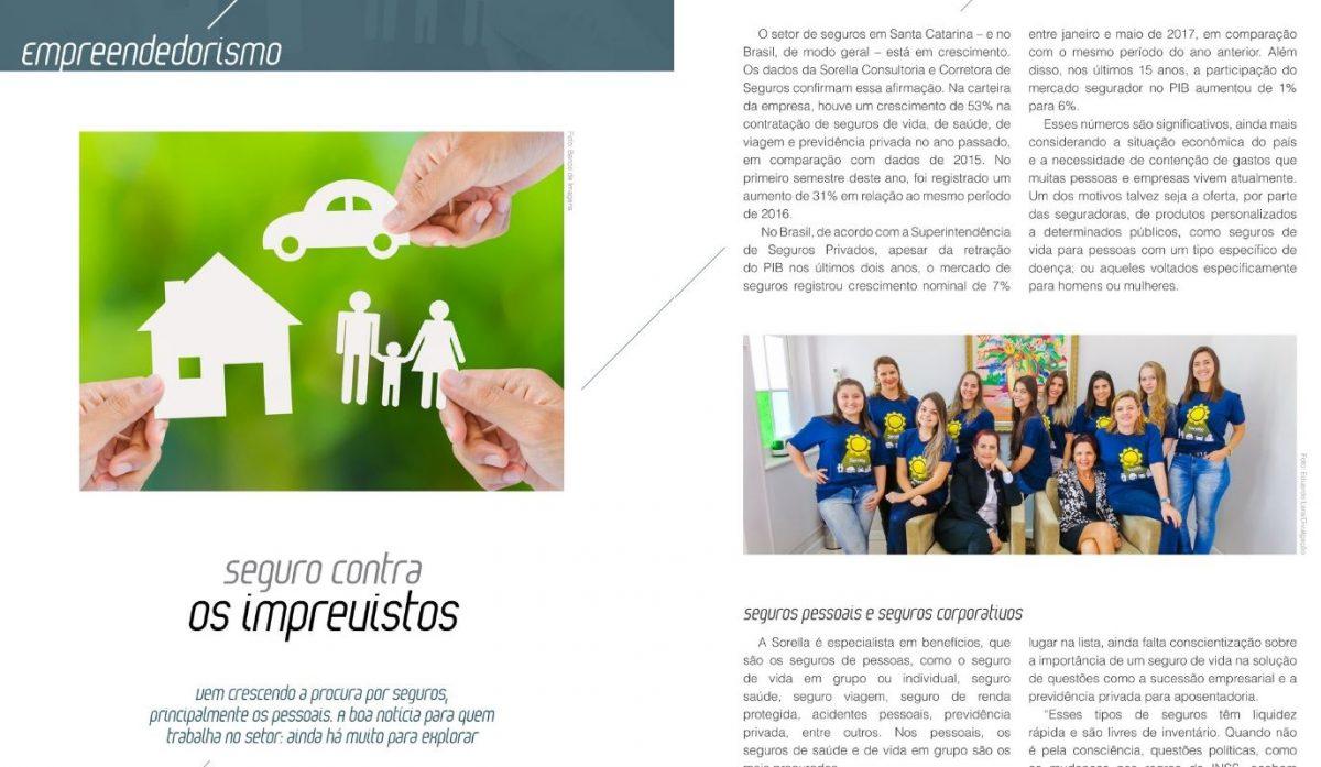 Sorella é notícia na Taba Magazine com dicas sobre Seguros